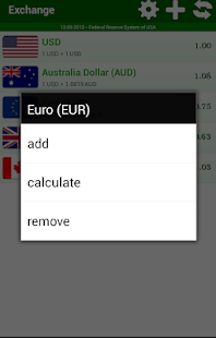 Exchange Currency MultiSource screenshot