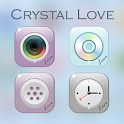 Crystal love GO Launcher Theme icon