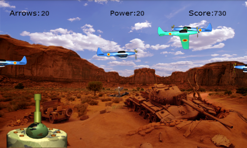 3D AirPlane Blast - screenshot