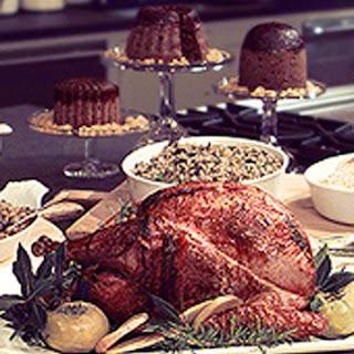 Rotisserie Turkey on the Grill.
