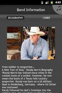 Randy Morris, ASCAP - screenshot thumbnail