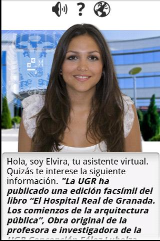 Asistente Virtual de la UGR - screenshot