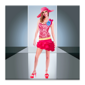 Model Dress Up Icon