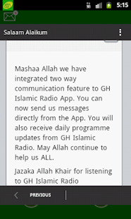 GH Islamic Radio- screenshot thumbnail