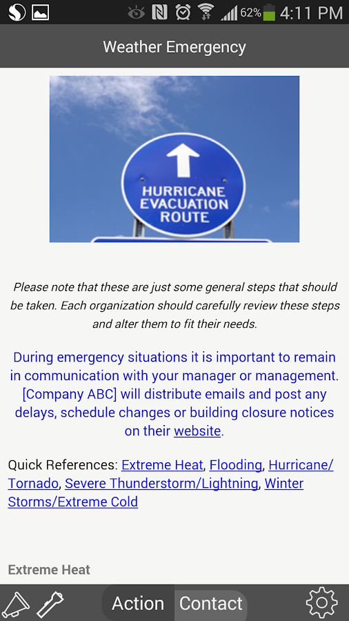 In Case of Crisis - Corporate- screenshot