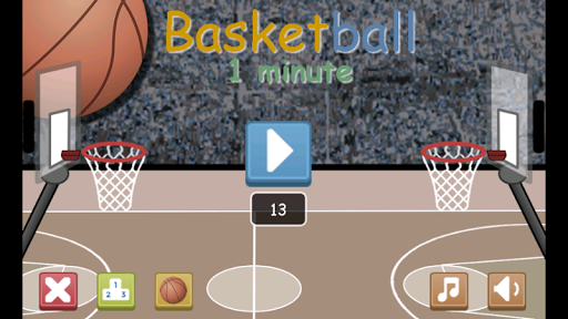 Basketball 1 minute