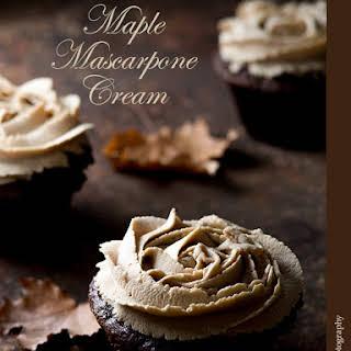 Maple Mascarpone Cream.