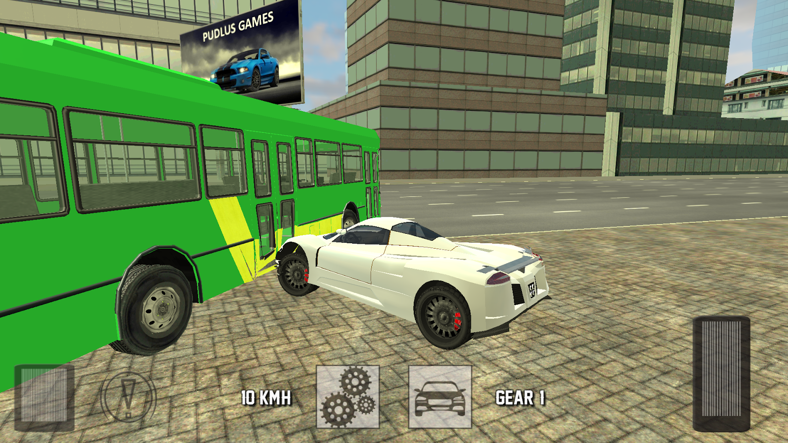 Super car city driving sim free games free online - Luxury Car Driving 3d Screenshot