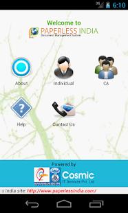 Paperless India screenshot