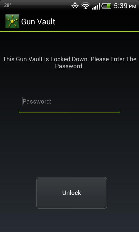 Gun Vault - screenshot