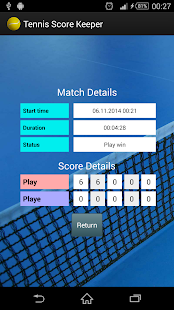 Tennis Score Keeper- screenshot thumbnail