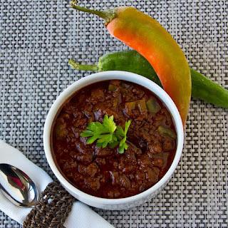 Paleo Crock Pot Chili.