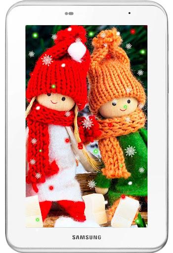 【免費個人化App】Winter Dolls live Wallpaper-APP點子