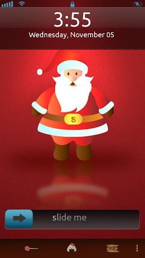 Christmas Santa Locker Theme