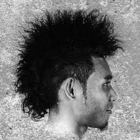 Punk Not Dead by Imam Syafi'i - People Portraits of Men