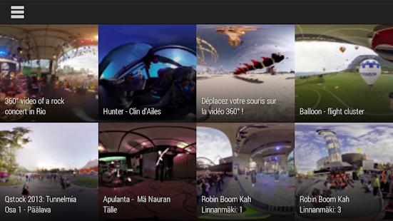 Kolor Eyes 360° video player - screenshot thumbnail