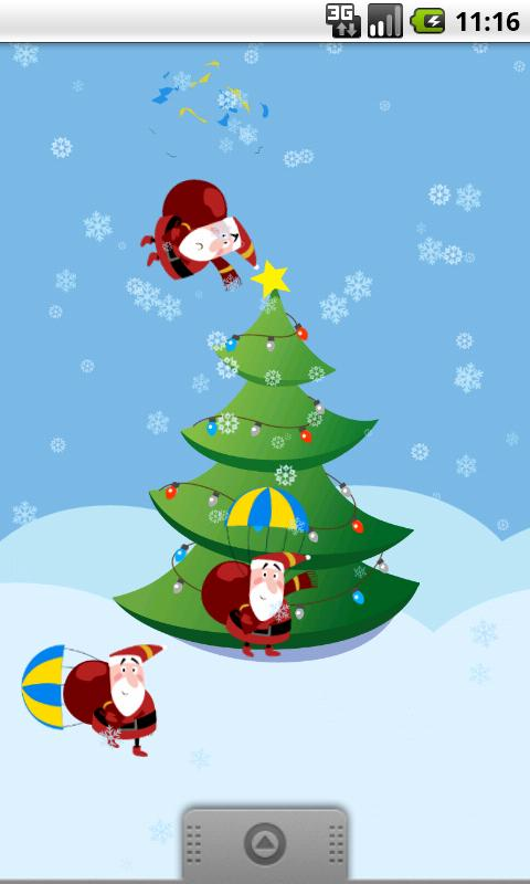 Funny Santas & Christmas Tree- screenshot