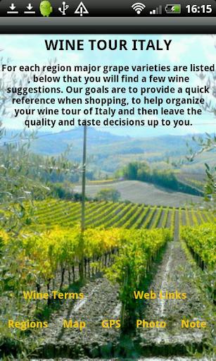 Wine Tour Italy