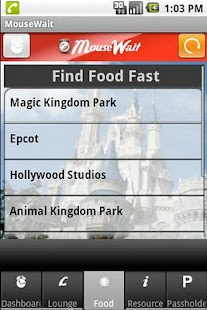 Disney World MouseWait FREE- screenshot thumbnail