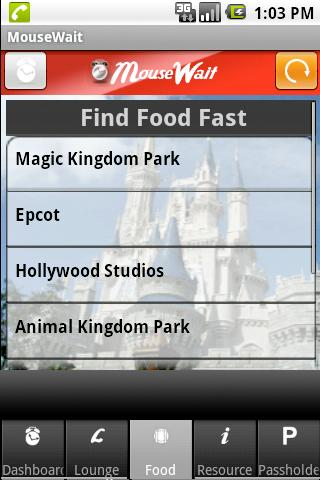 Disney World MouseWait FREE- screenshot