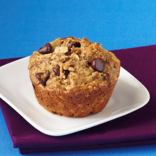 Almond Butter-Dark Chocolate All-Bran® Muffins