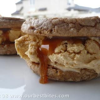 Pumpkin Spice Ice Cream Sandwiches