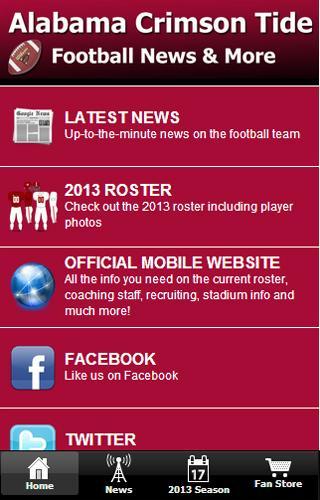Alabama Football News