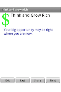 Think and Grow Rich - screenshot thumbnail