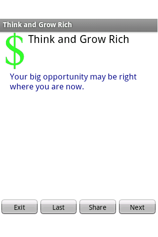 Think and Grow Rich 2016- screenshot