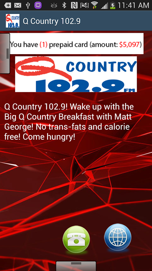 Q Country 102.9 - screenshot