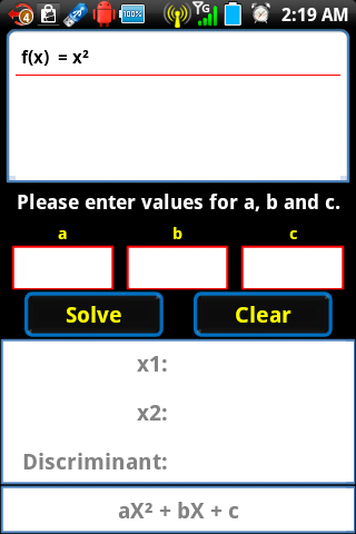 Listcalc Calculator - screenshot