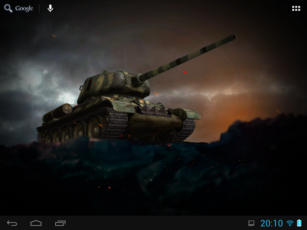 Tanks Live Wallpaper - screenshot