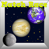 Planet Kids Game Match Race
