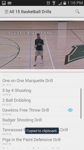 kApp - 15 Basketball Drills