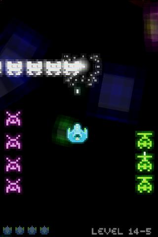 Voxel Invaders (Free) - screenshot