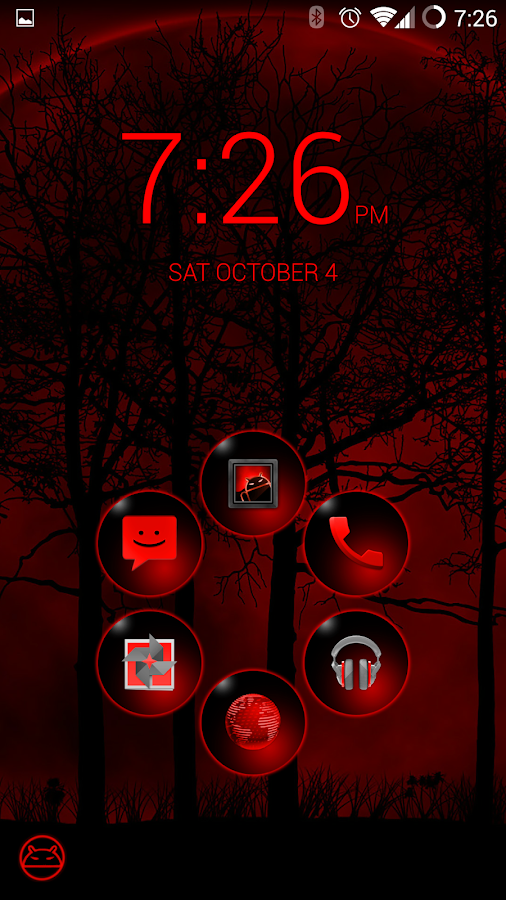 BloodRed Icon Pack- screenshot