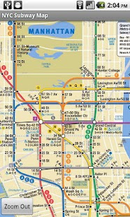 Nyc Subway Map Pda.Nyc Bus Subway Maps Apprecs