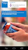 Screenshot of FoodSwitch