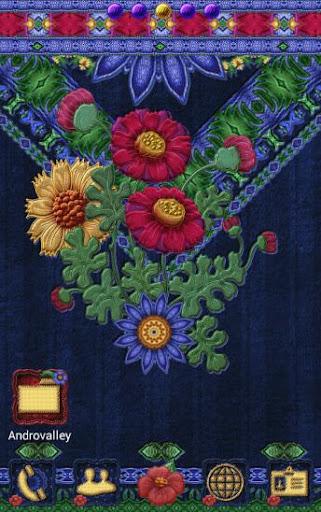 Apex GO Theme Bohemian Floral