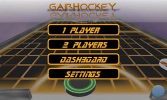 Screenshot of gAirHockey
