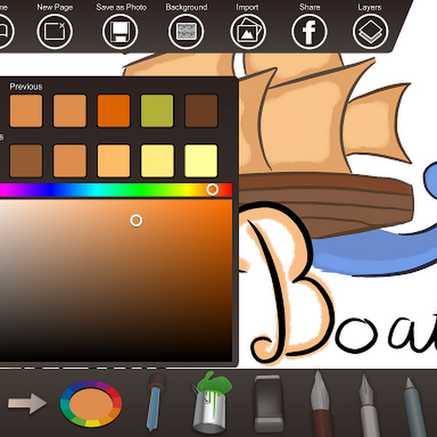 Belle Coloriage Tablette android Gratuit