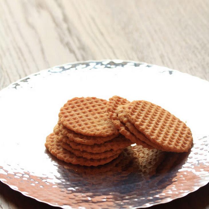 Waffle Cookie Recipe