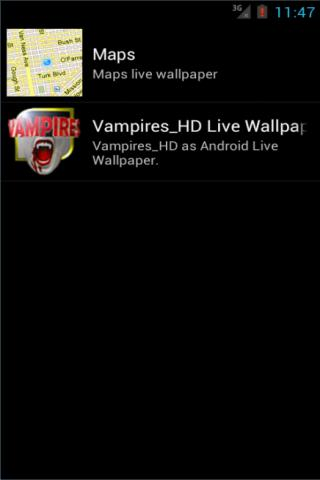 Vampires HD live wallpaper