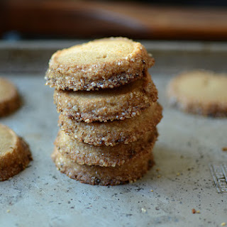 Salted Rye Cookies from Whole Grains for a New Generation.