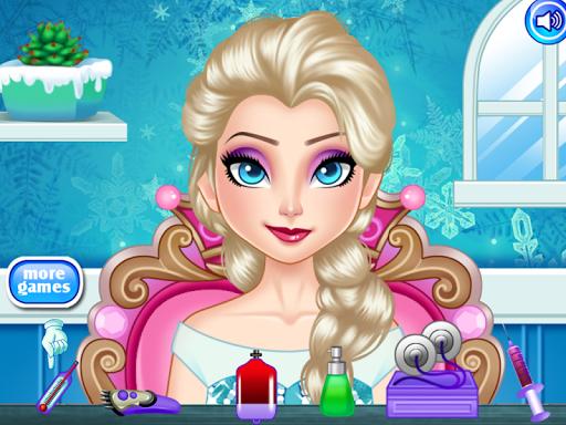 Frozen Ice Elsa Doctor