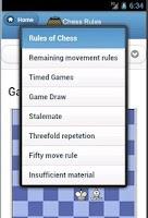Screenshot of Chess Rules