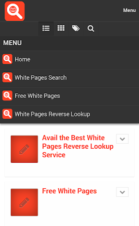 White Pages Search 1.0 screenshot 10020