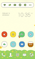 Screenshot of Small Spring dodol theme