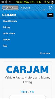 CarJam New Zealand - screenshot