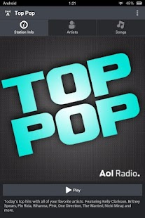 AOL Radio- screenshot thumbnail